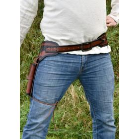 Leather revolver holster - 3