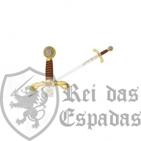 Espada de Cristóvão Colombo em ouro