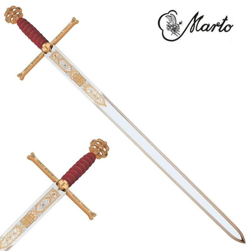Sword Catholic Kings Gold-Plated - 6