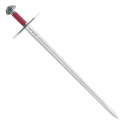 Functional Templar sword with sheath - 7