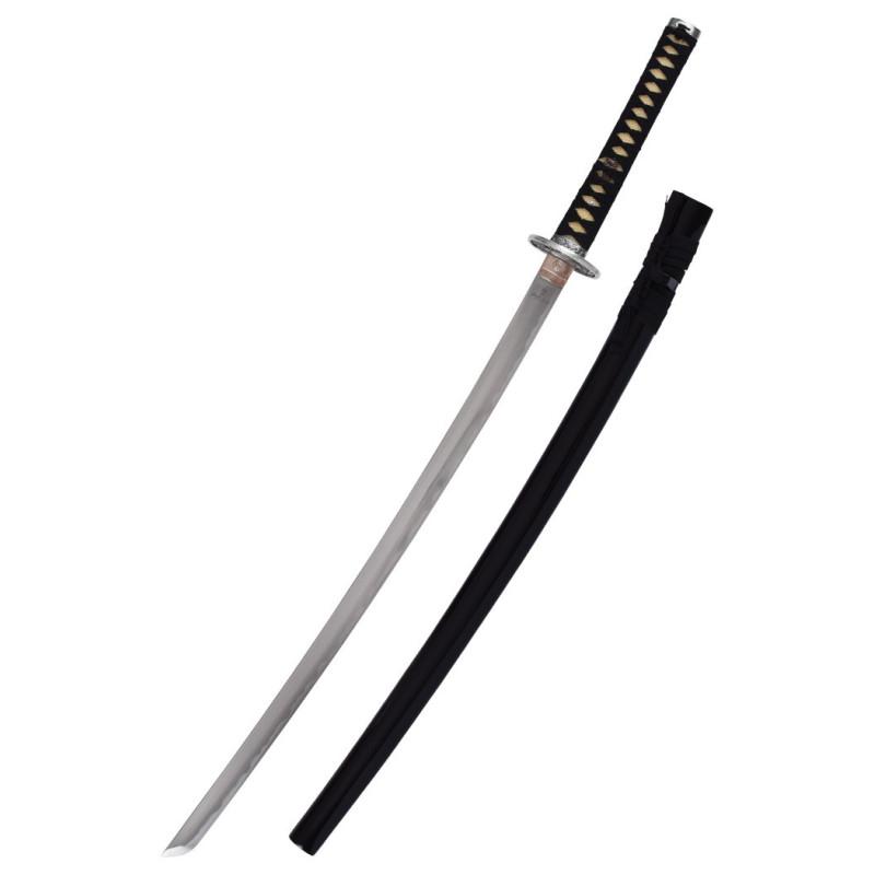 Katana with black wooden sheath, Marto - 2