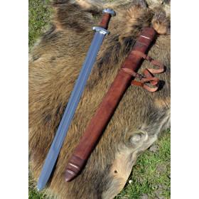 copy of Viking Sword Dybäck with Sheath, Steel Damascus - 1