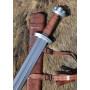 copy of Viking Sword Dybäck with Sheath, Steel Damascus - 2