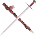 Functional Templar sword with sheath - 8