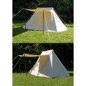 Saxon Jorvik tent, 5 x 7 m, 425 g / m2, natural color - 1
