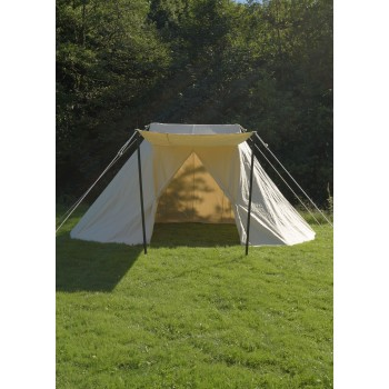 Saxon Jorvik tent, 5 x 7 m, 425 g / m2, natural color - 2
