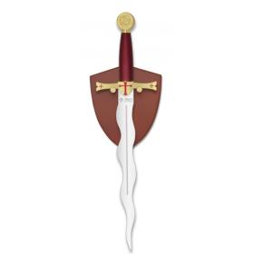 Flaming Templaria Dagger - 1