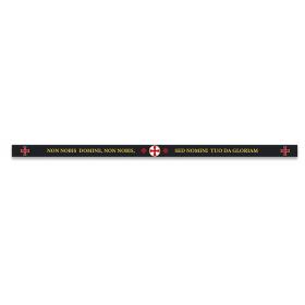 33x1.4 cm woven templar bracelet - 1