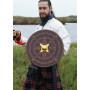 Small Scottish Round Shield for Battle, Mini Targe - 4