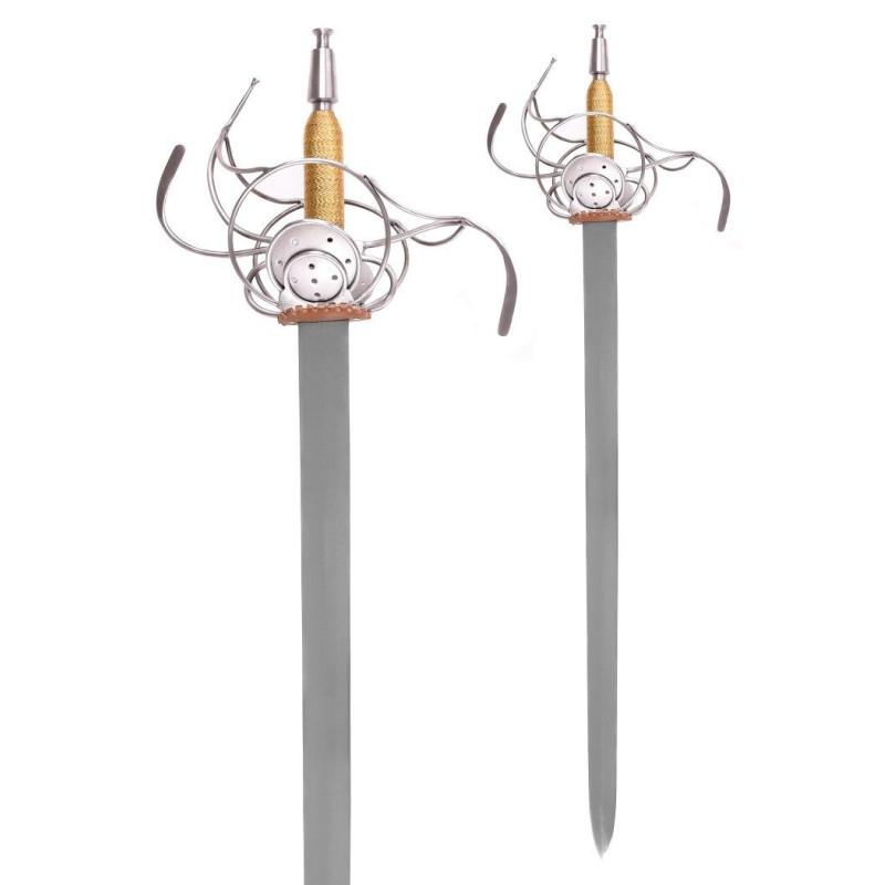Espada Rapier alemanha sec, XVII - 1