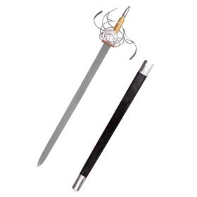 Espada Rapier alemanha sec, XVII - 2