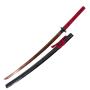 Katana Sharp Práctica Básica, Hoja de Acero de Albaricoque Rojo - 6