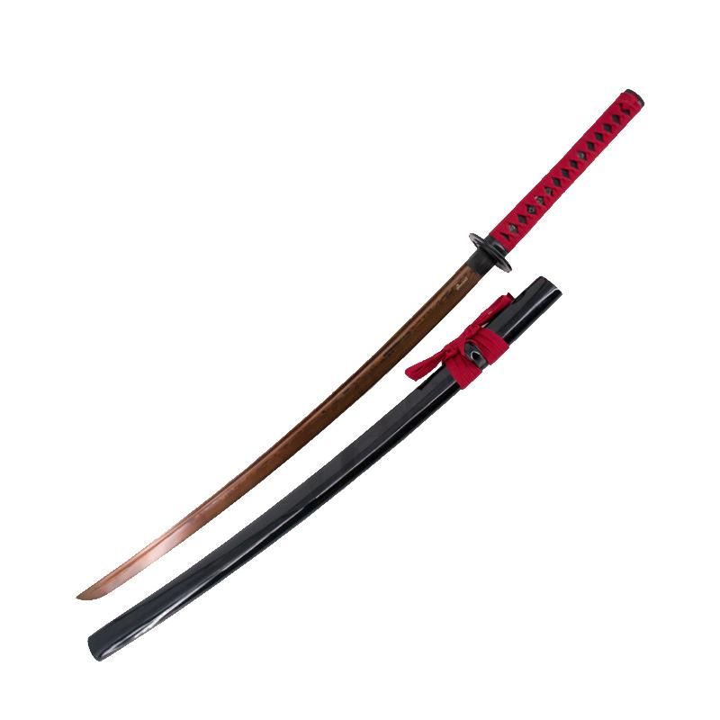 Katana Sharp Basic Practice, Red Apricot Steel Blade - 6