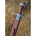 Tall medieval knight sword with sheath - 2