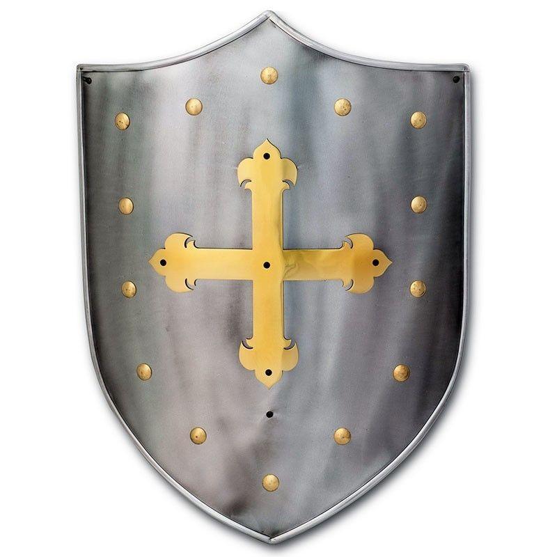 Medieval Templar Shield - 1