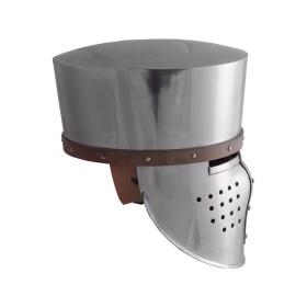 Crusader medieval helmet, year 1180 - 2