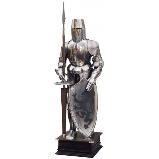 Armadura Templaria, Escudo León Rampante