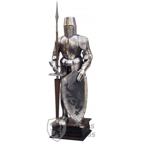 Templaria Armor, Shield León Rampante