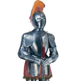 Armadura Medieval, Gravado Especial - 2