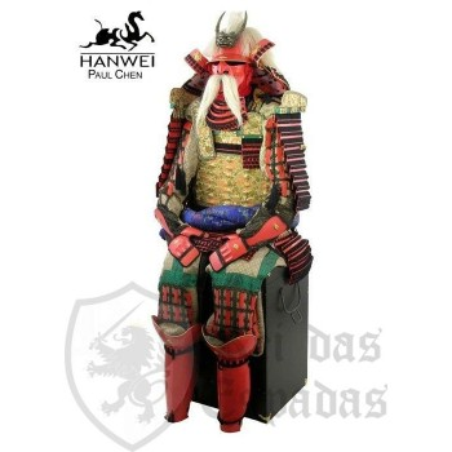 Armadura de Samurai japonés de Takeda Shingen