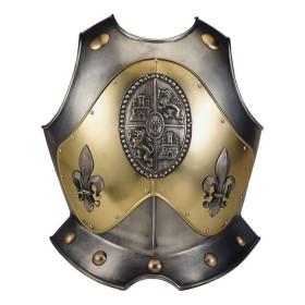 Peitoral com relevo e gravados para armadura