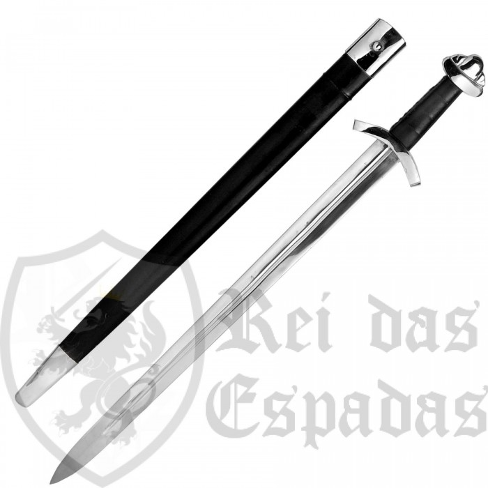 Functional EN45 steel Viking sword