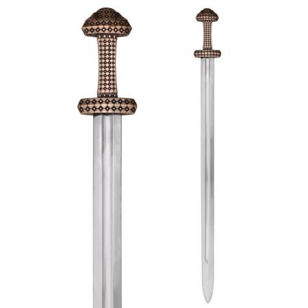Espada Viking funcional, Aço Damasco