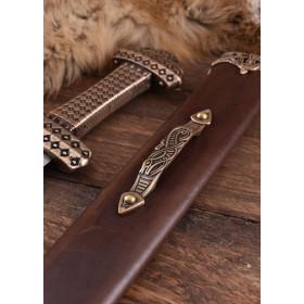 Functional Viking Sword, Damascus Steel - 3