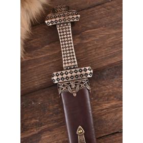 Functional Viking Sword, Damascus Steel - 5