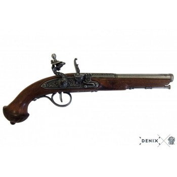 18th-century Flintlock pistol - 1