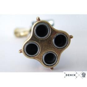 Pistol 4 pipes, France s.XVIII - 4