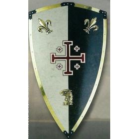 Escudo Templários Jesuralem - 1