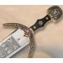 Espada Marco Polo em dourado sem bainha - 1