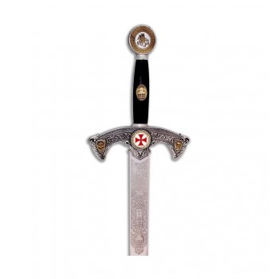 Espada Templário prata