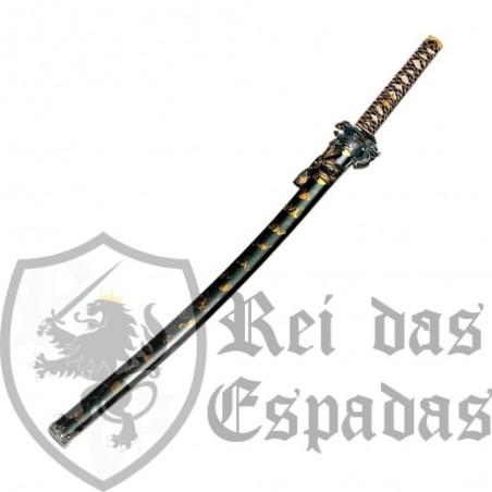 Katana Dragon oro