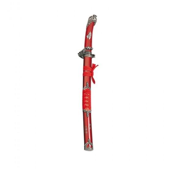 Wakizashi cobra vermelha