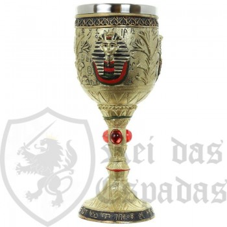 Copa Egipcia Decorativa