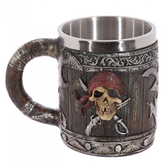 Caneca Decorativa Pirata