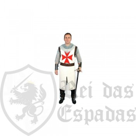 Túnica medieval Tabard Templar