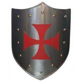 Escudo Templários Cruz Vermelha - 1