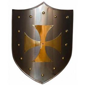 Golden Cross Templar Shield - 1