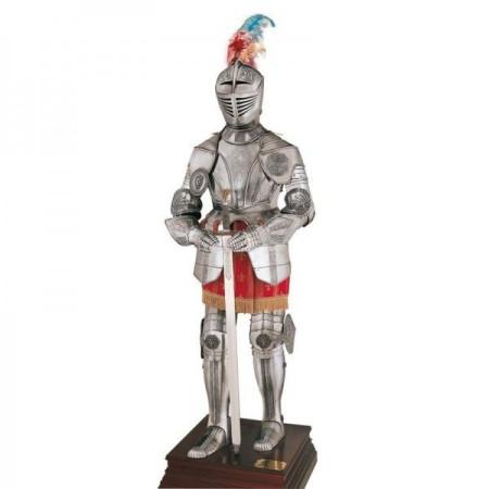 16th-century engraved armor