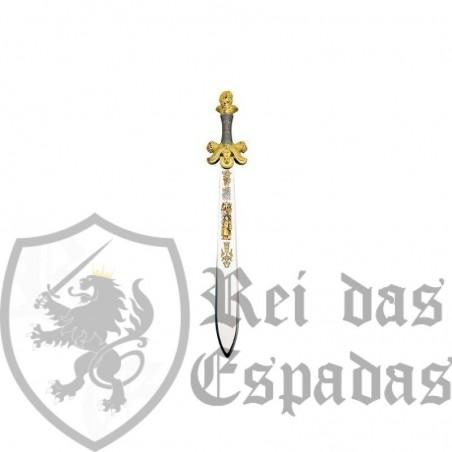 Espada cava Baco para ceremonias en Oro