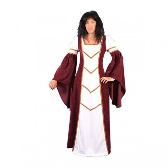 Vestido de mulher medieval Blany