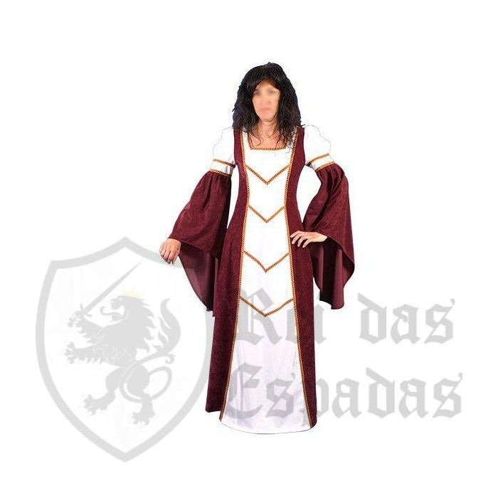Medieval woman dress Blany