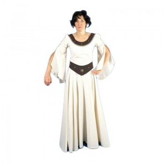 Vestido de mulher medieval de Athena