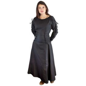 Vestido sacerdotisa, preto