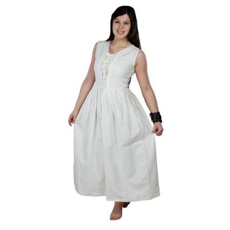 Vestido Medieval blanco