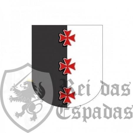 Templar banner 60 x 70