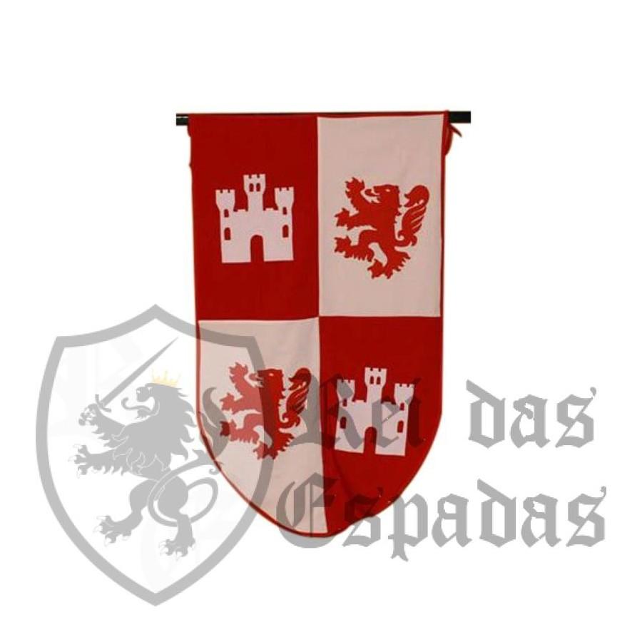 Bandeira medieval Cid (65x104 cms.)